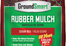 .8 Cubic Foot Bag of Cedar Red Rubber Mulch