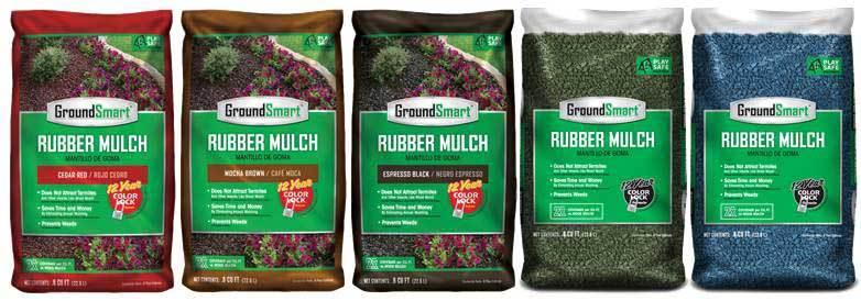 GroundSmart Rubber Mulch
