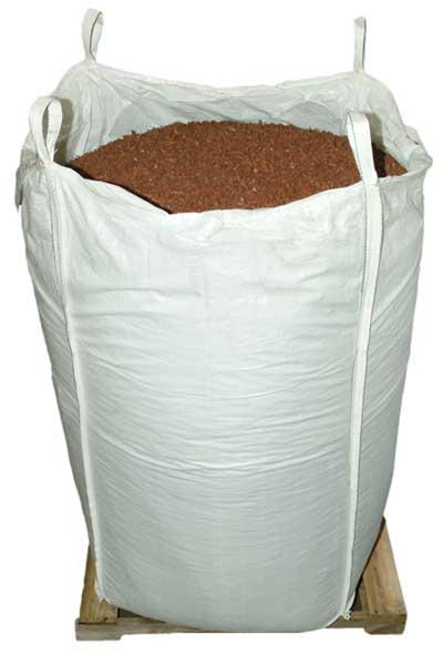 Cedar Red Rubber Mulch Mocha Brown Rubber Mulch Supersack bulk package