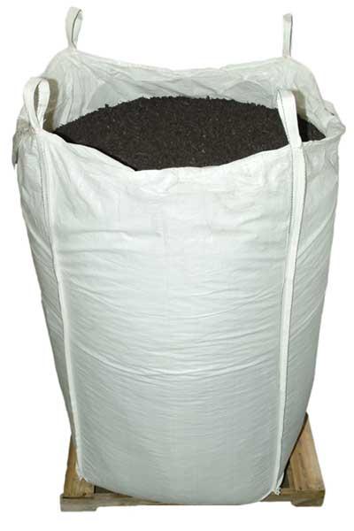 Espresso Black Rubber Mulch Supersack bulk package