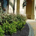 Residential Landscape | GroundSmart Black Rubber Mulch