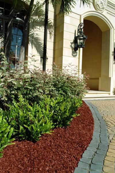Landscape Rubber Mulch Leed Credits For Landscape Rubber