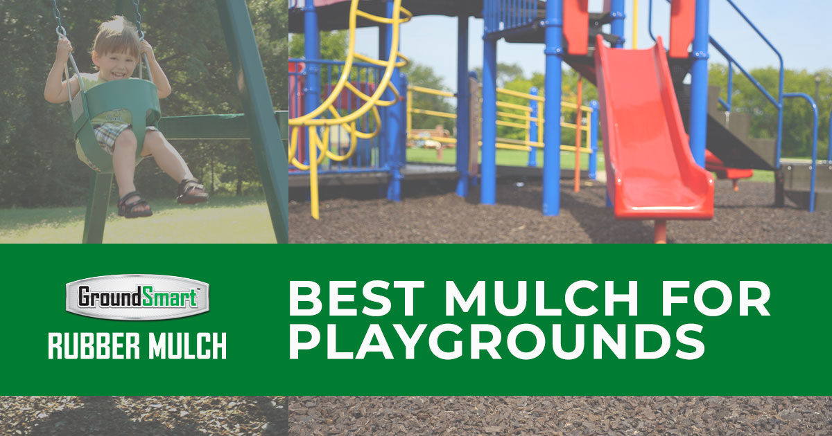 playground rubber mulch safest playground surface material easy  maintain playground
